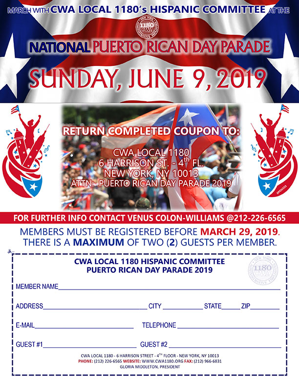 PUERTO RICAN DAY PARADE 2019